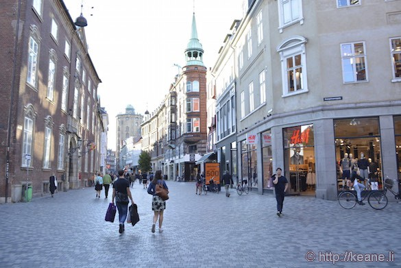 Shopping in Downtown Copenhagen