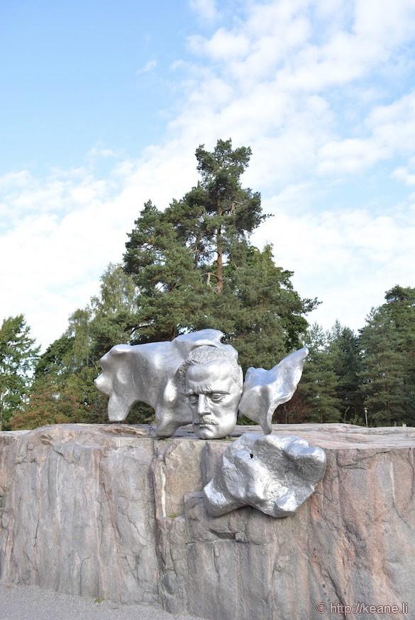 Jean Sibelius Monument at Sibelius Park