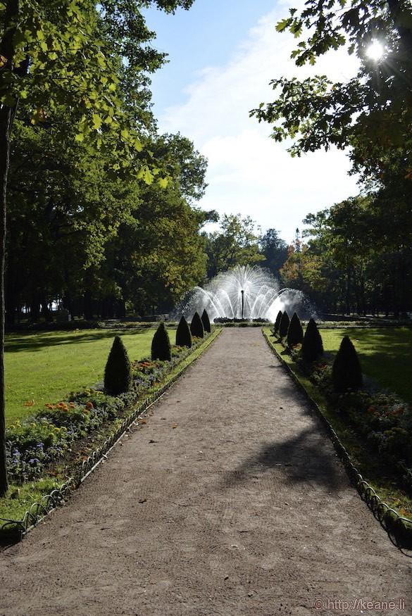 Peterhof Palace Gardens and Fountain