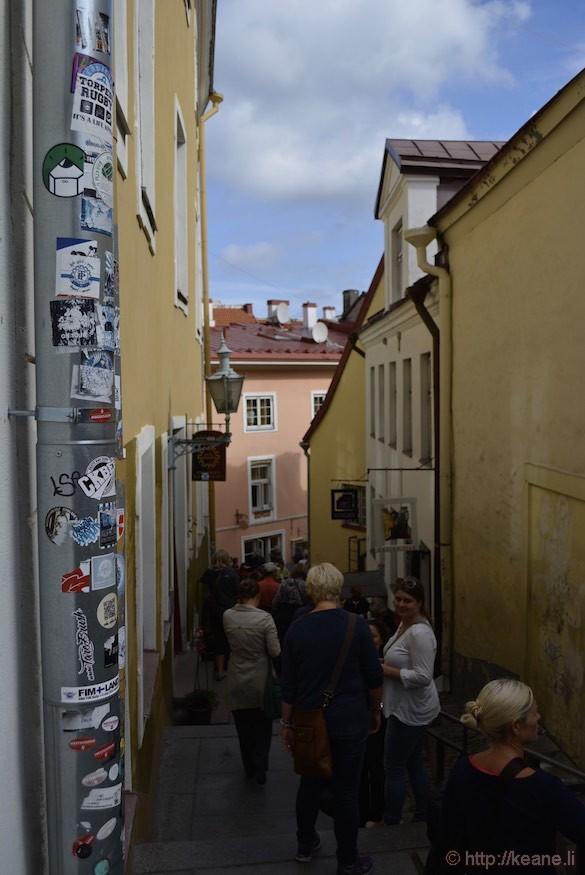Historic Tallinn Alleyway