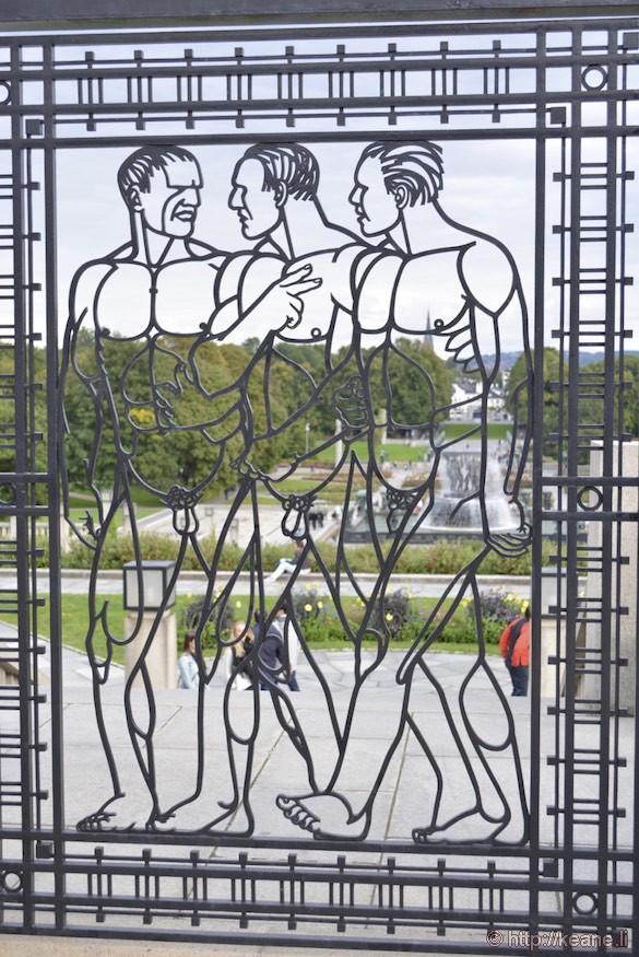 Gustav Vigeland Art in Frogner Park in Oslo