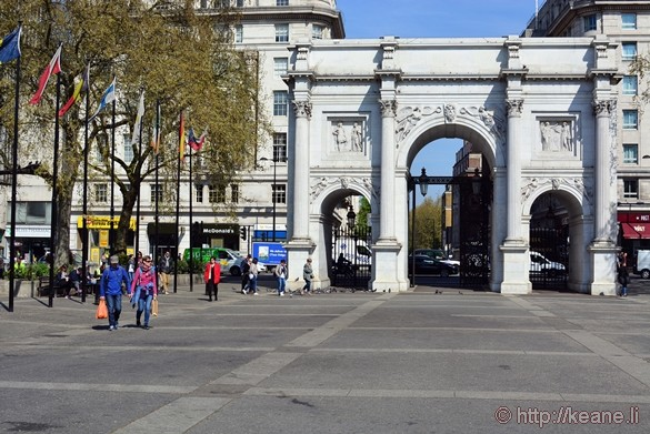 Marble Arch at Hyde Park
