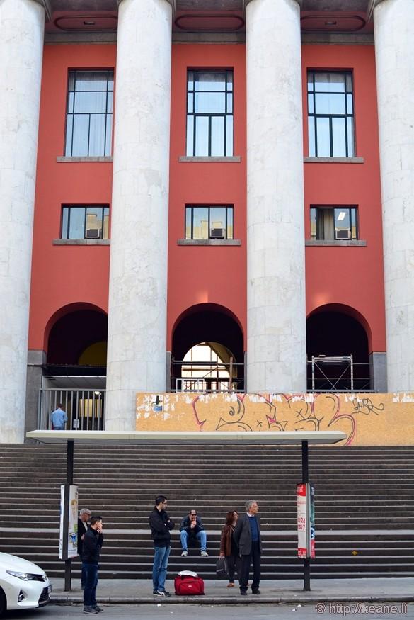 Palermo Bus Stop on Via Roma
