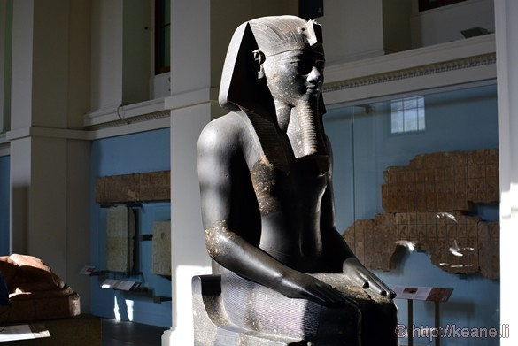 Egyptian Gallery in the British Museum
