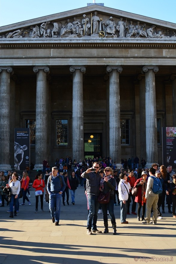 Main Entrance of the British Museum