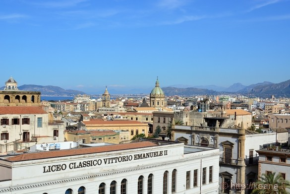 View from the Top of Palermo Cathedral