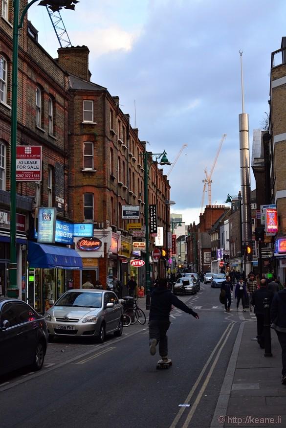 Brick Lane in London