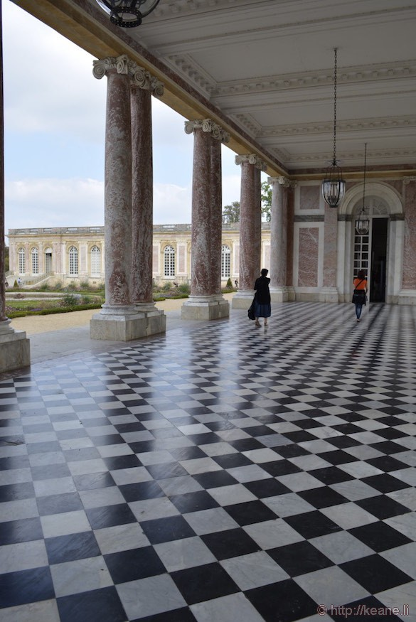 Versailles - Checkerboard Floors