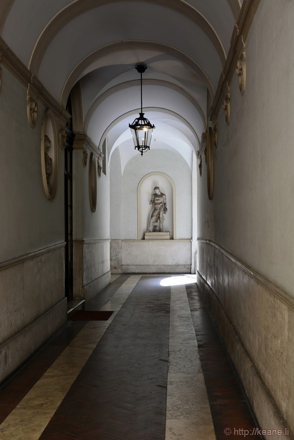 Entryway in Rome