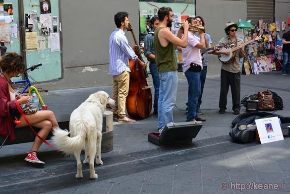 Live Band on Via Chiaia