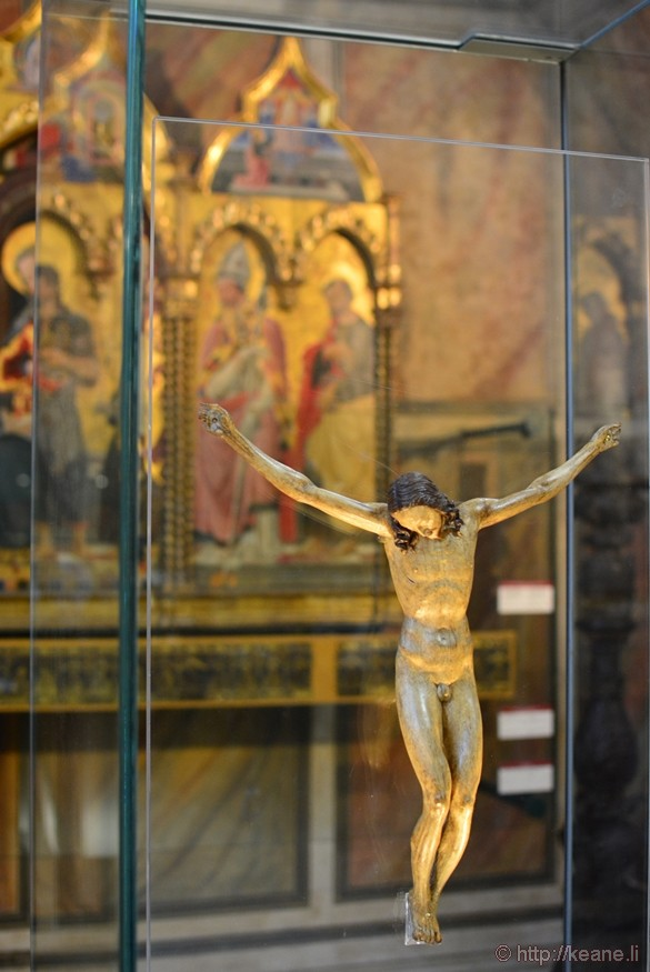 Michelangelo's Crucifixion of Christ in Palazzo Vecchio