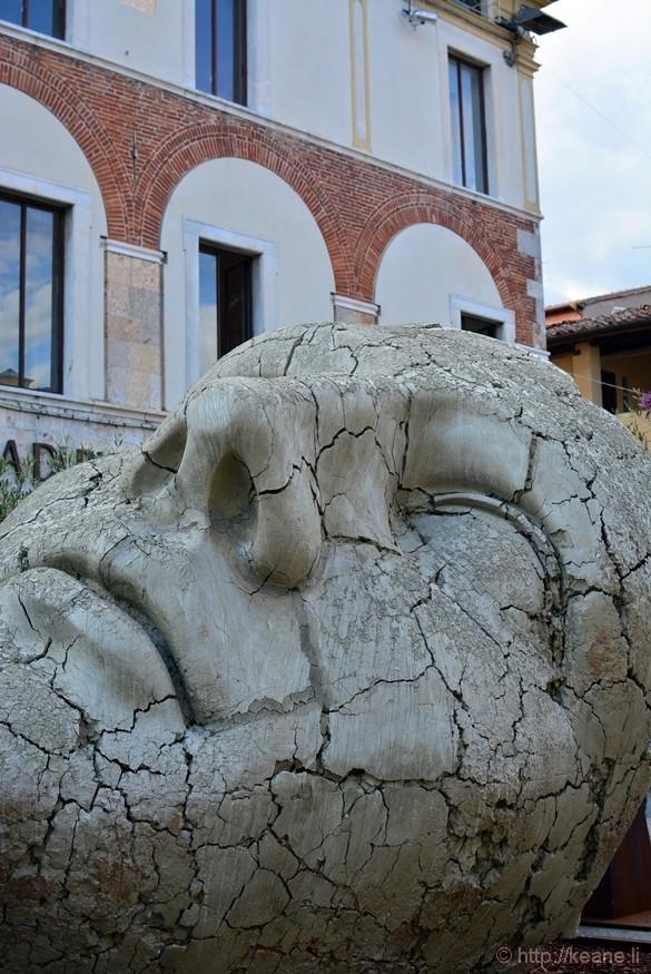 Pietrasanta - Sculpture by Mitoraj