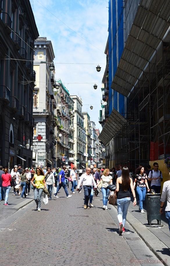 Via Toledo Shopping in Naples