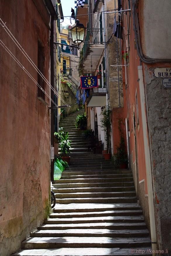Cinque Terre Streets