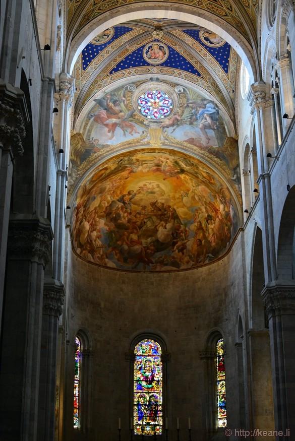 Lucca - Inside the Cattedrale di San Martino