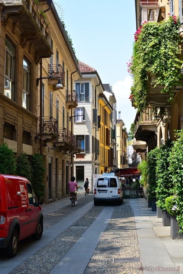 Brera District in Milan