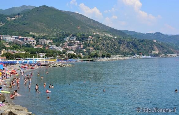Beach at Arenzano