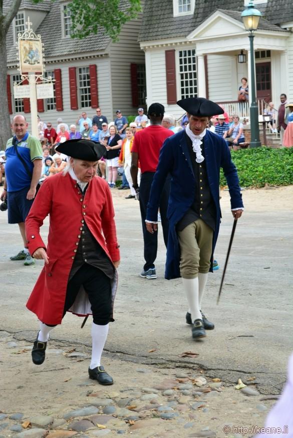 Colonial Williamsburg - People Plotting