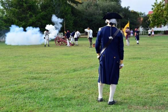 Colonial Williamsburg - Cannon Firing