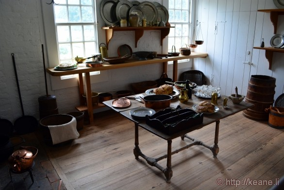 Colonial Williamsburg - Kitchen