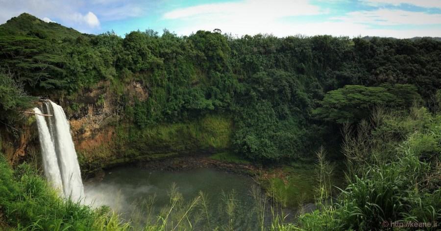 Kauai - Wailua Falls Panorama