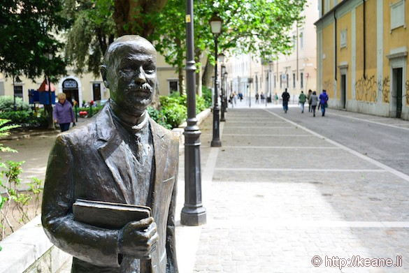 Statue of James Joyce in Trieste