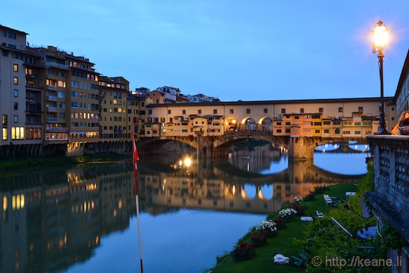 Ponte Vecchio at Night