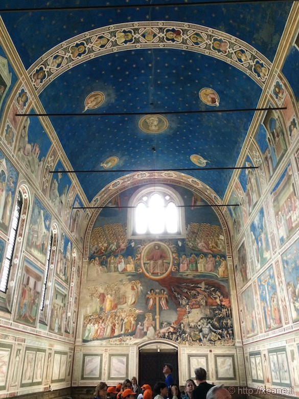 Giotto Frescoes Inside the Cappella degli Scrovegni