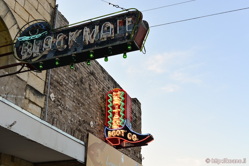 Neon Signs in South Congress in Austin