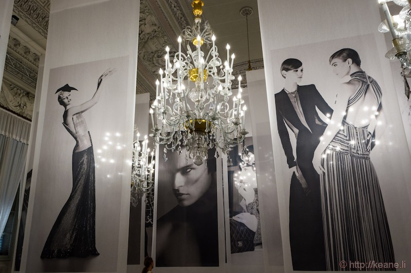 Karl Lagerfeld Visions of Fashion Exhibit in Palazzo Pitti