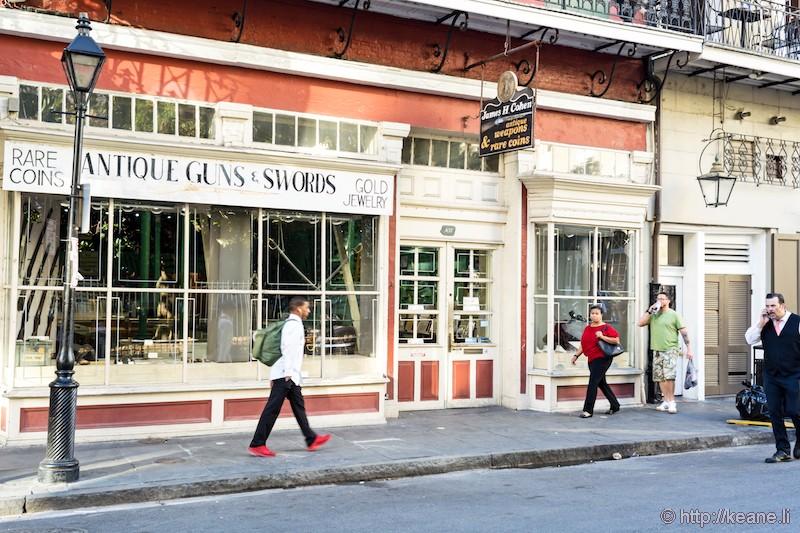 James H. Cohen Antiques Shop in New Orleans