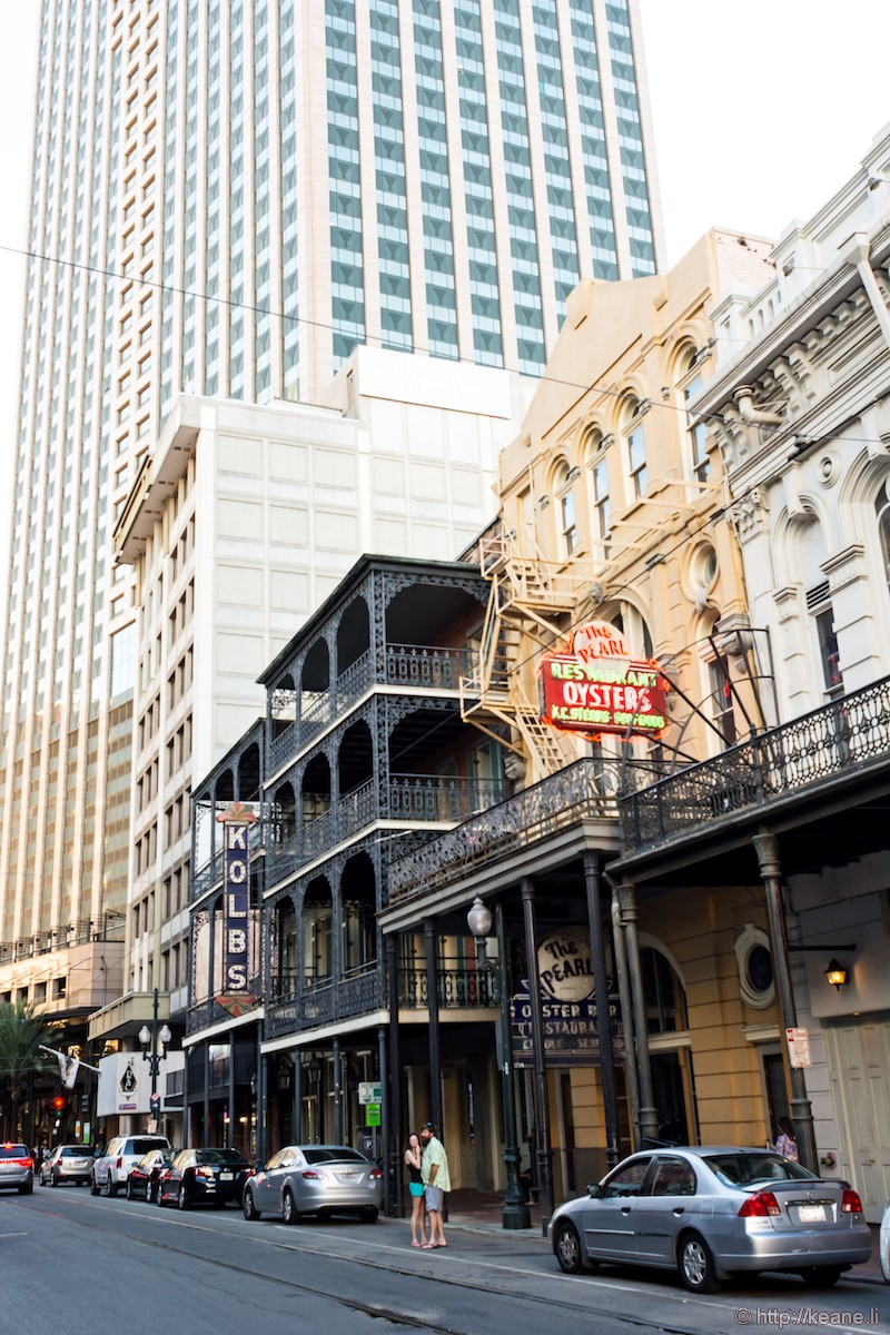 The Pearl Restaurant and Kolb's in New Orleans