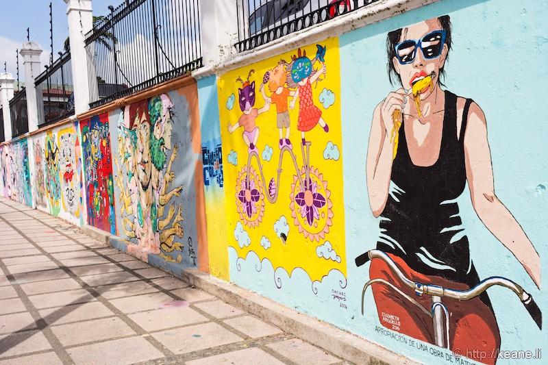 Street Art in San José, Costa Rica