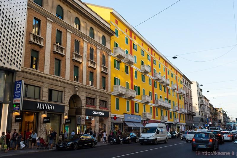 Corso Buenos Aires in Milan