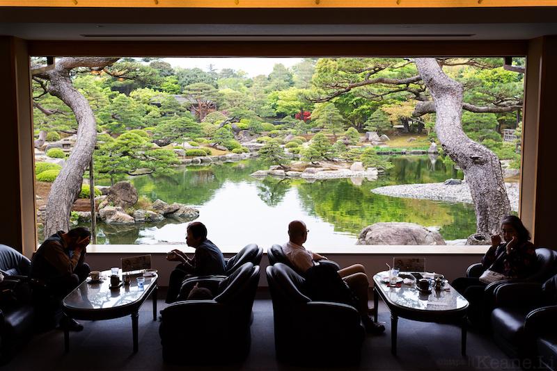 Yuushien Garden in Matsue