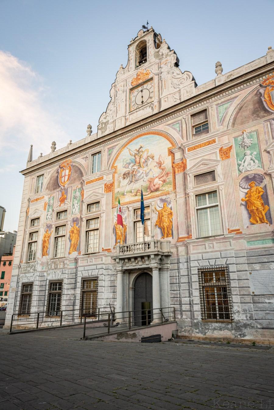 Palazzo San Giorgio in Genoa