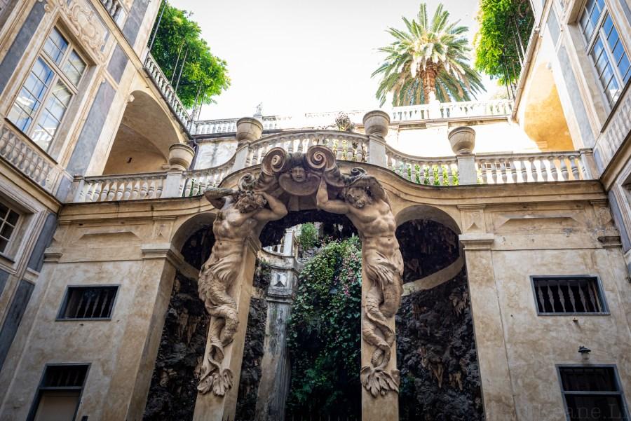 Palazzo in Genoa
