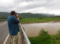 My husband (Bear) taking his first shots of Costa Rica. Photo by keagiles.