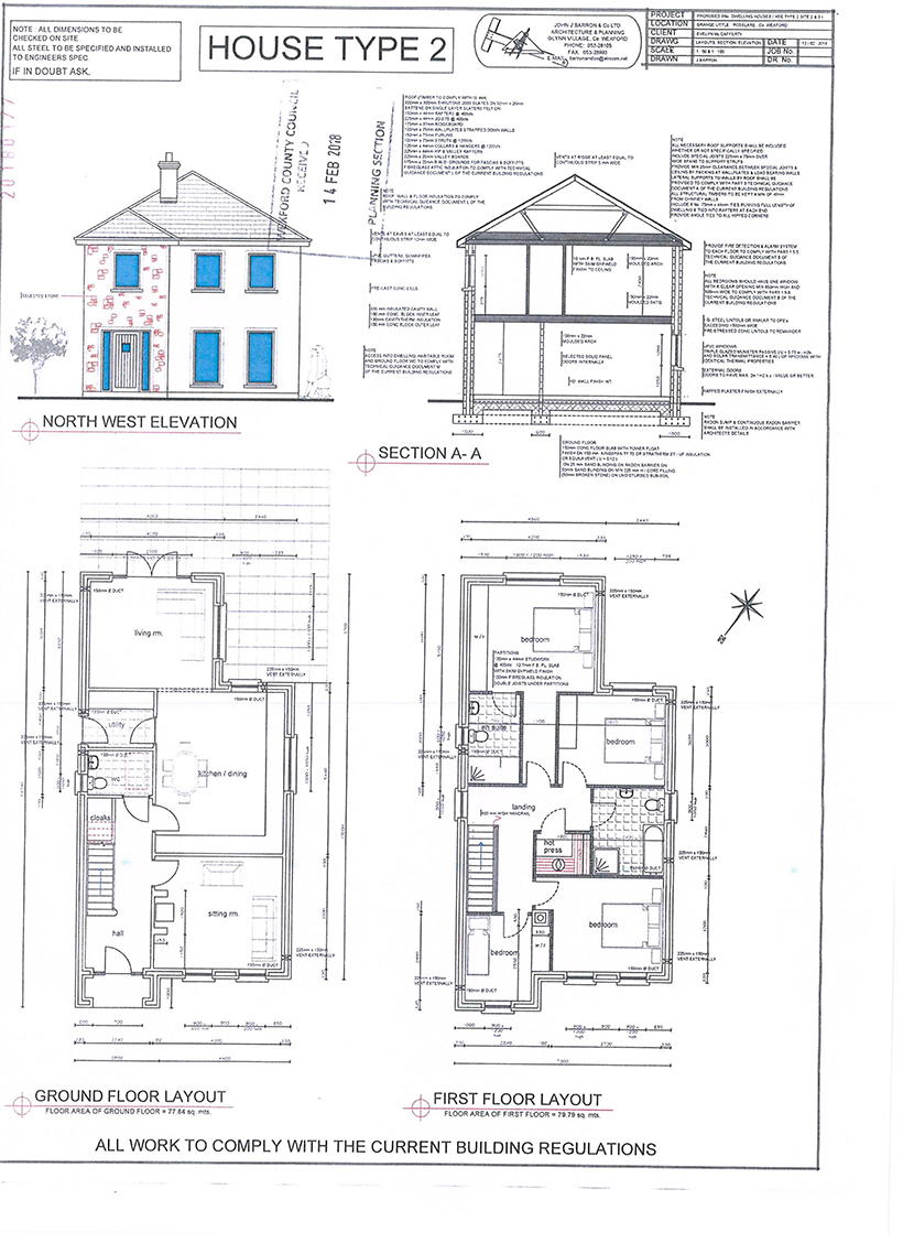 Site in Prime Location With F.P.P for 3 Dwellings at