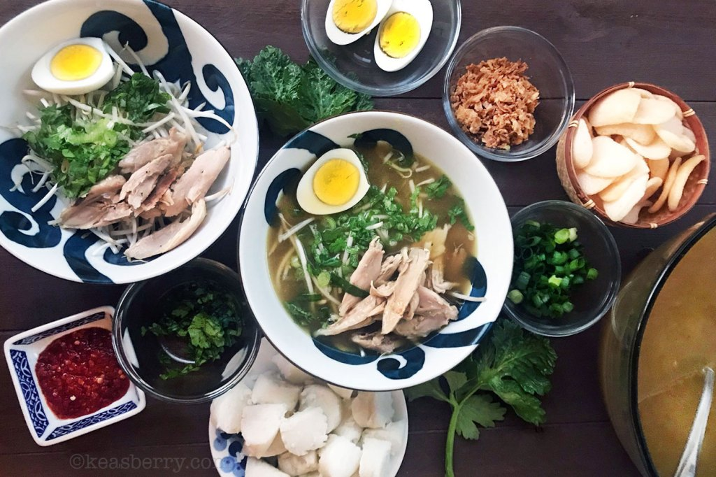 Soto Ayam Indonesian Chicken Soup