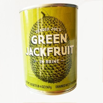 Green Jackfruit Trader Joe's - Indonesian cooking with Keasberry