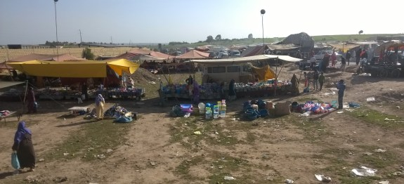 weekly market in Azemmour