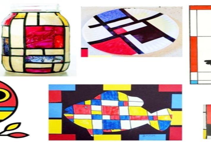 JugARTE: Mondrian te lo cuenta