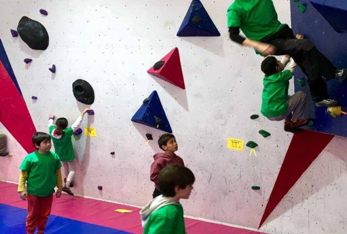 Campamento escalada The Climb Kids