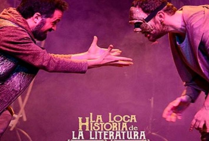 Teatro: La loca historia de la literatura