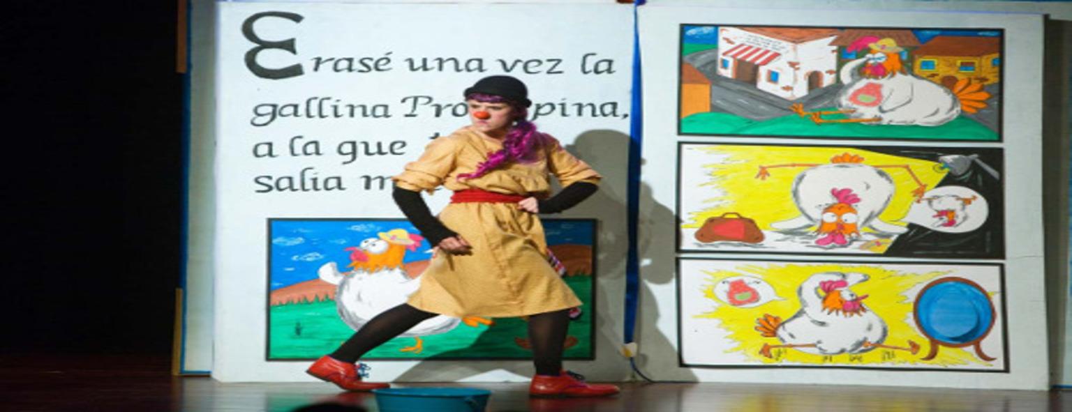 Espectáculo de clown y circo: ¡Pobrecita la gallinita!