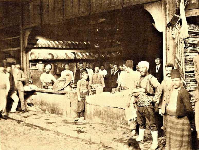 Historie kebabu Iskenderova kebabárna v Burse