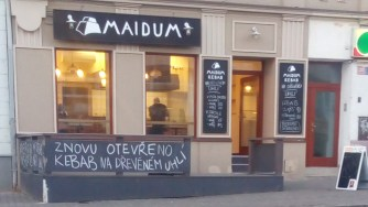 Maidum kebab, Ústí nad Labem