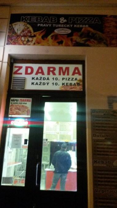 Kebab & Pizza Čestmírova, Praha - Nusle