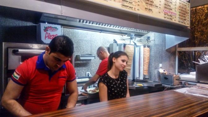Obsluha kebabárny Žižkov Chomutov